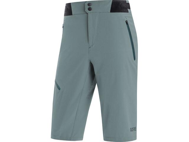 GORE WEAR C5 Spodnie krótkie Mężczyźni, niebieski/szary